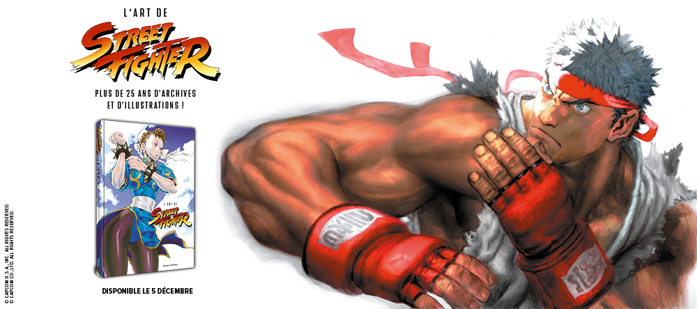 HADOUKEN ! Street Fighter se joint au catalogue !