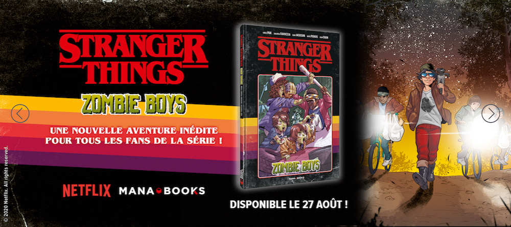 Nouvelle BD Stranger Things  !